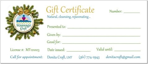 Christmas Wreath Cert