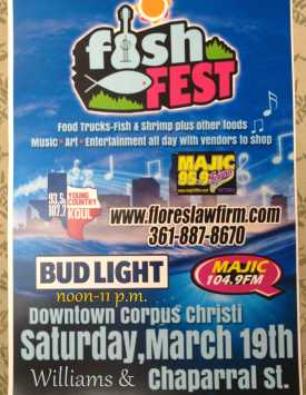 Print Fish Fest poster